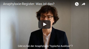 anaphylaxie register