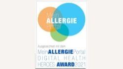MeinAllergiePortal Digital Health Heroes-Award 2021
