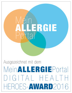 MeinAllergiePortal Digital Health Heroes-Awards 2016