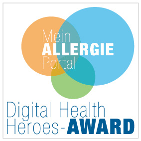 MeinAllergiePortal Digital Health Heroes-Award