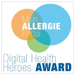 MeinAllergiePortal Digital Health Heroes-Award 2021