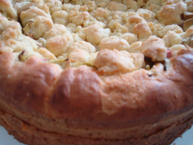 Mein Allergie Portal Com Rezepte Rhabarber Streusel Kuchen Mit