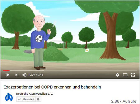 exazerbationen copd erkennen behandeln