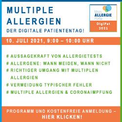 DigiPat Webinar Multiple Allergien allergisch