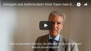 Allergie und Asthma beim Kind Praediktion Praevention
