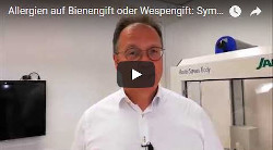 Allergien Bienengift Wespengift Symptome Diagnose Therapie