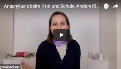 Anaphylaxie Kind Schule