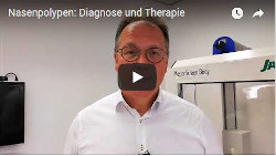 Nasenpolypen Diagnose Therapie
