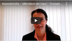 Neurodermitis Mikrobiom Haut Therapie